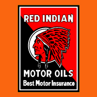"Red Indian Motor Insurance @ 17"" x 24"", $75.00 Each"